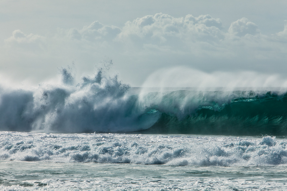 The Pipeline, Haleiwa, Oahu, United States