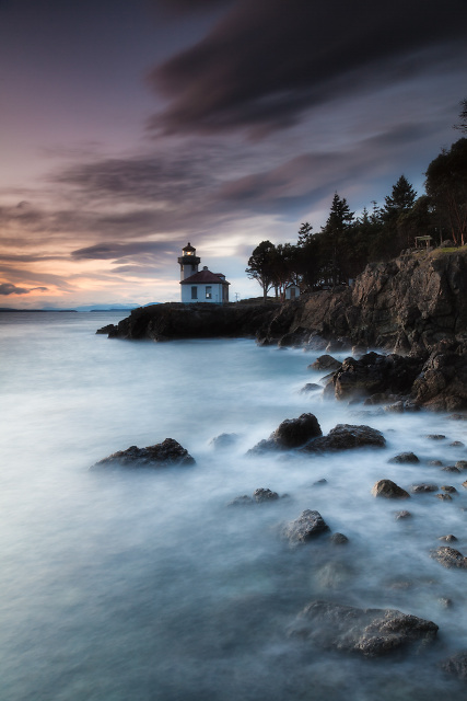 Lime Kiln Lighthouse, San Juan I, Friday Harbor, Washington, United States