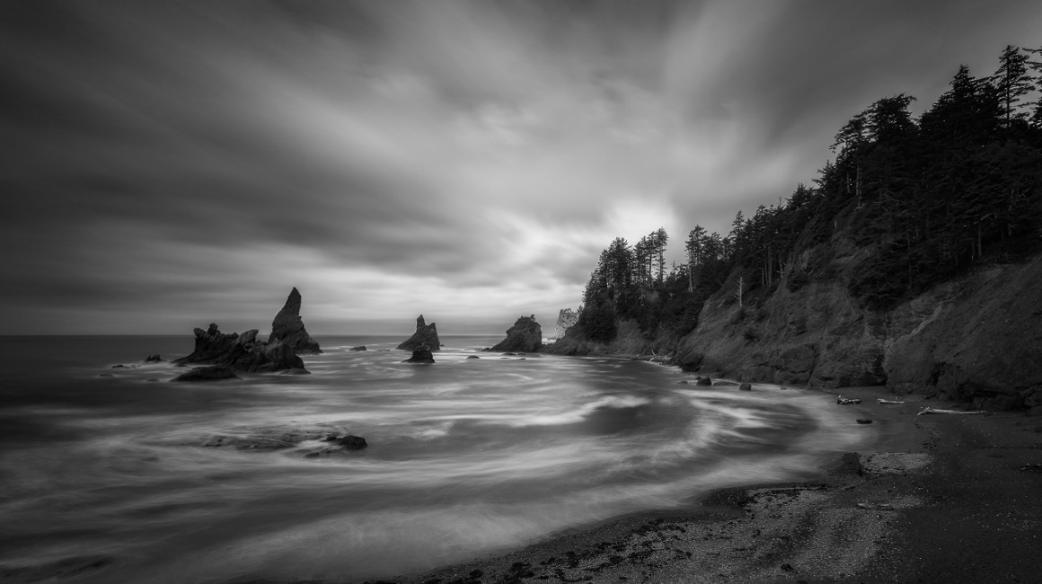 Shi Shi Beach, Clallam Bay, Washington, United States