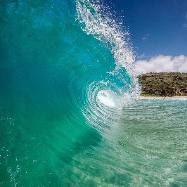 Waimea Bay Beach Park, Haleiwa, Oahu, United States